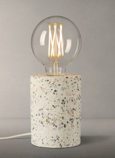 House by John Lewis Terazzo Ceramic Bulbholder Table Lamp
