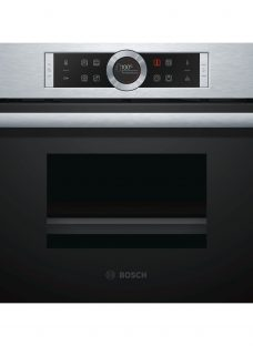 Bosch CDG634BS1B Single Oven with Steamer