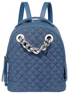 Fiorelli Anouk Quilted Small Chain Backpack