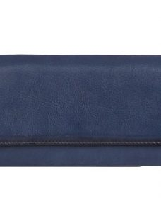 Gerard Darel Le Portefeuille Leather Flapover Purse