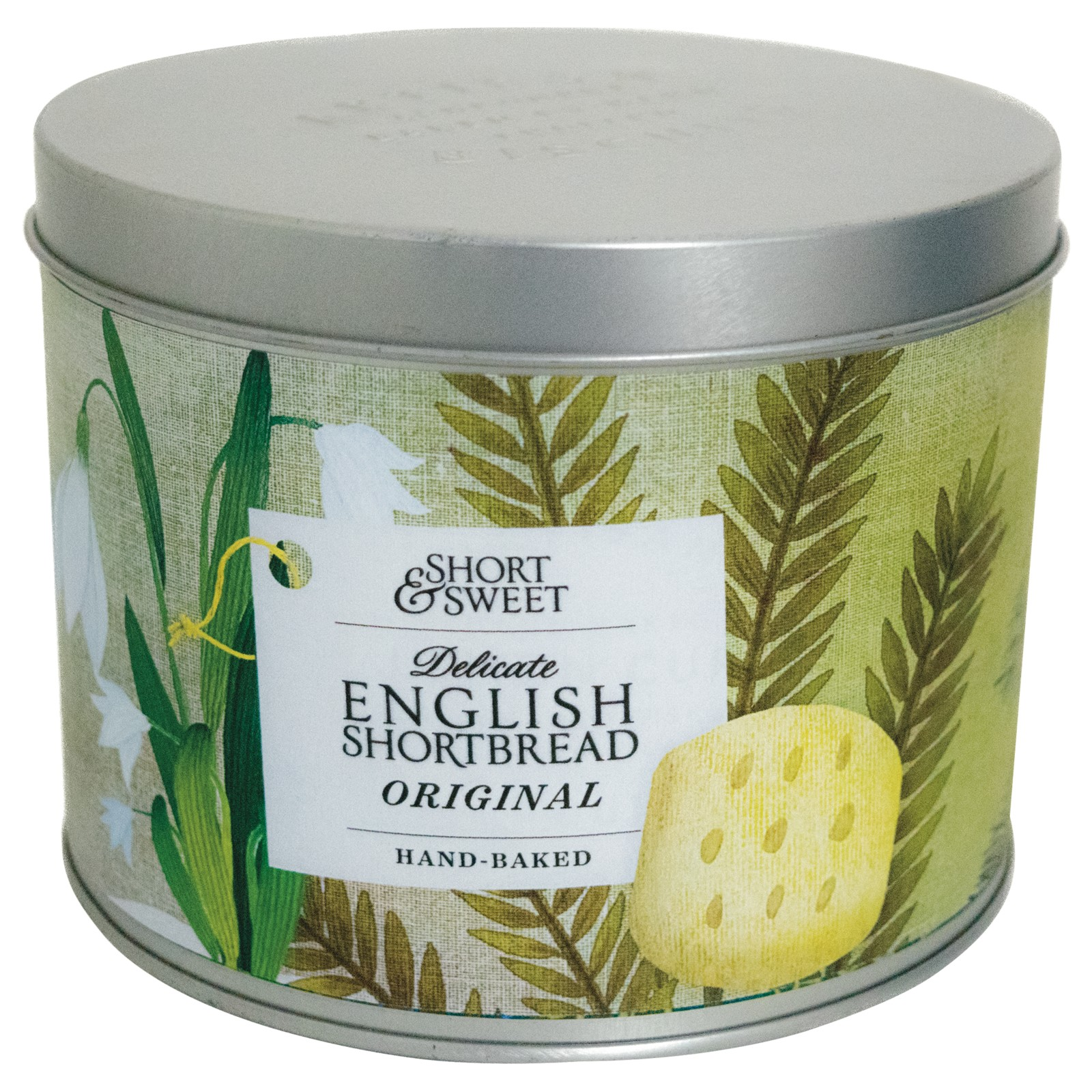 Artisan Biscuits Delicate English Shortbread Gift Tin