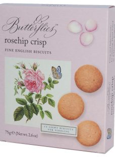 Artisan Biscuits Butterflies Rose Crisp Biscuits