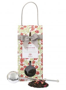 Whittard English Rose Tea Pouch and Infuser
