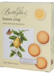 Artisan Biscuits Butterflies Lemon Crisp Biscuits