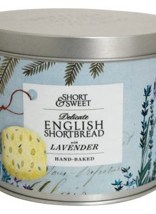 Artisan Biscuits Lavender English Shortbread Gift Tin