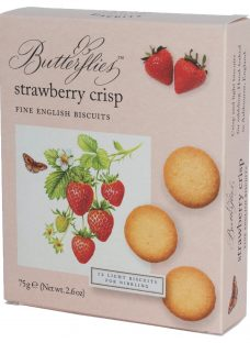 Artisan Biscuits Butterflies Strawberry Crisp Biscuits