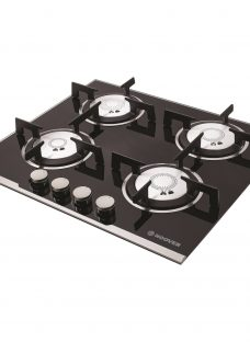 Hoover HGV64SXV Integrated Gas Hob