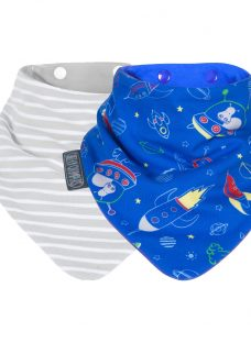Cheeky Chompers Space Baby Neckerbib