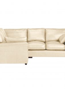John Lewis Leon Leather Corner End Sofa