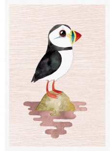 Woodmansterne Puffin Greeting Card