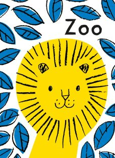 A Tiny Little Story: Zoo Children's Cloth Book