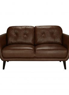House by John Lewis Arlo Small 2 Seater Leather Sofa