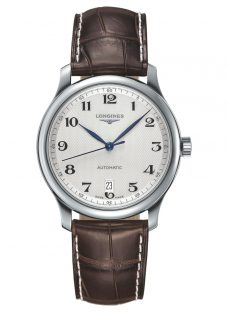 Longines L26284783 Men's Master Collection Automatic Date Alligator Leather Strap Watch