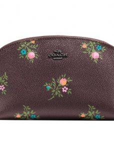 Coach Printed Canvas Cosmetic Case 22