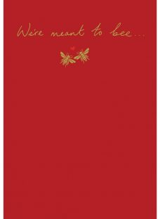 Woodmansterne We Bee-long Together Valentine's Day Card