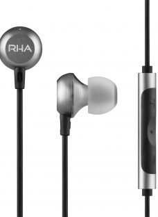 RHA MA650 In-Ear Headphones with High Resolution Audio & Mic/Remote for Android