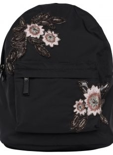 French Connection Anye Embroidered Backpack