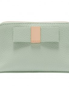 Ted Baker Raulph Leather Bow Makeup Bag