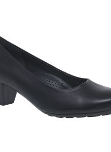 Gabor Brambling Wide Fit Leather Court Shoes