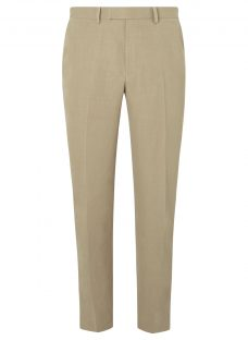 John Lewis Silk Linen Regular Fit Suit Trousers