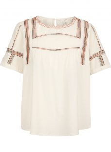Fat Face Luna Embroidered Blouse