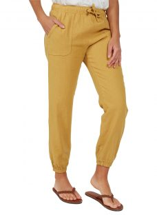 Fat Face Linen-Blend Drawstring Trousers