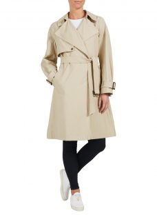 Four Seasons Unfastened Trench Coat