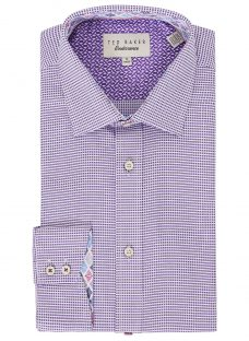 Ted Baker Giara Semi Plain Tailored Fit Shirt