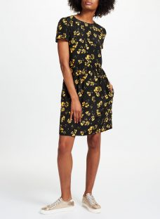 Collection WEEKEND by John Lewis Artist Brush Stroke Print Dress