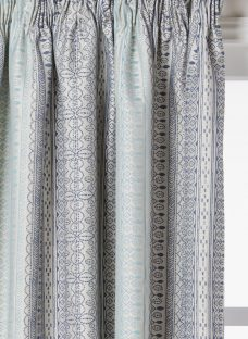 John Lewis Mahal Weave Pair Lined Pencil Pleat Curtains
