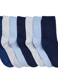 John Lewis Boys' Marl Textured Socks