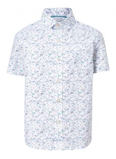 John Lewis Heirloom Collection Boys' Floral Shirt