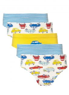 John Lewis Boys' Car Print Briefs
