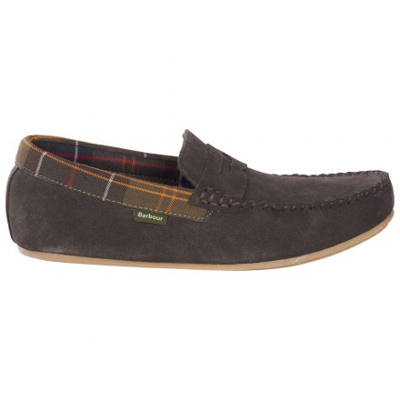 Barbour Ashworth Check Lined Moccasins