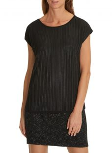 Betty & Co Layered Jersey Top