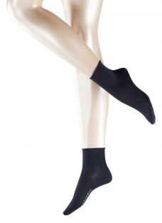 FALKE Cotton Touch Roll Top Ankle Socks