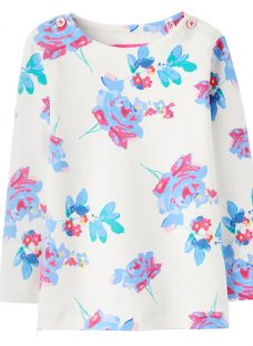 Baby Joule Harbour Posy Print Top