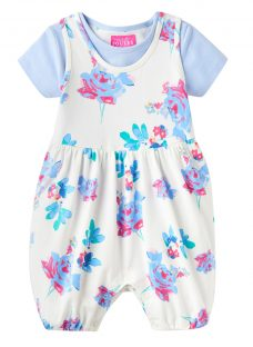 Baby Joule Dolly Posy Romper & T-Shirt Set