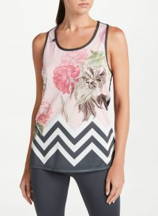 Ted Baker Fit to a T Marleena Palace Gardens Cross Back Vest Top
