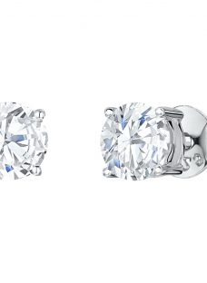 Jools by Jenny Brown Cubic Zirconia Medium Round Stud Earrings