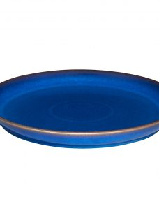 Denby Imperial Blue Coupe 25cm Dinner Plate