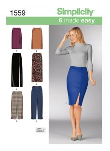 Simplicity 6 Made Easy Skirts & Trousers Sewing Pattern