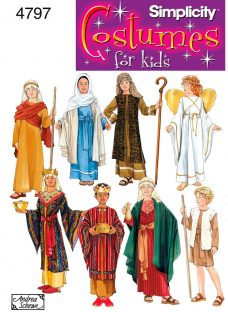 Simplicity Boys' & Girls' Costumes Sewing Pattern