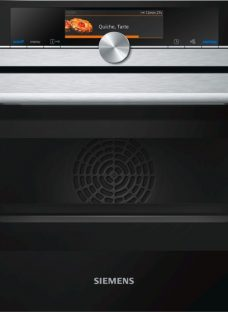 Siemens CM678G4S1B Built-in Combination Microwave Oven