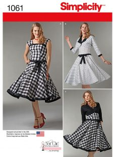 Simplicity Sew Chic Dress and Lined Jacket Sewing Pattern