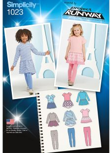 Simplicity Toddler's Dress And Leggings Sewing Pattern