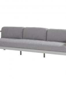 4 Seasons Outdoor Galaxy 3 Seat Garden Sofa with Arms & 4 Cushions