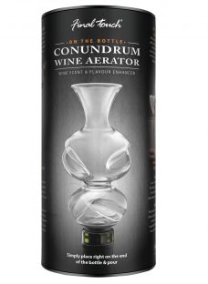 Final Touch Conundrum Wine Aerator