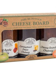 Cottage Delight 'Take Me To The Cheeseboard' Chutneys
