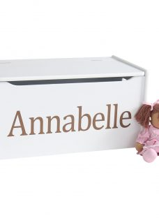 My 1st Years Personalised Wooden Toy Chest
